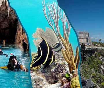 Tulum Ruins Tour, Cenote Tour, and Snorkel Tour